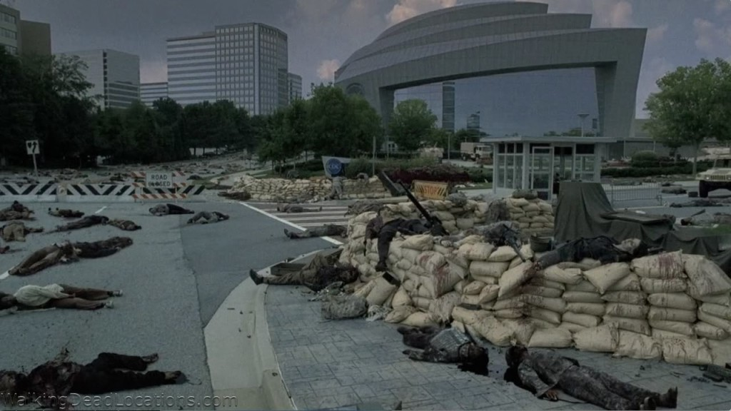 El edificio como escenario de The Walking Dead