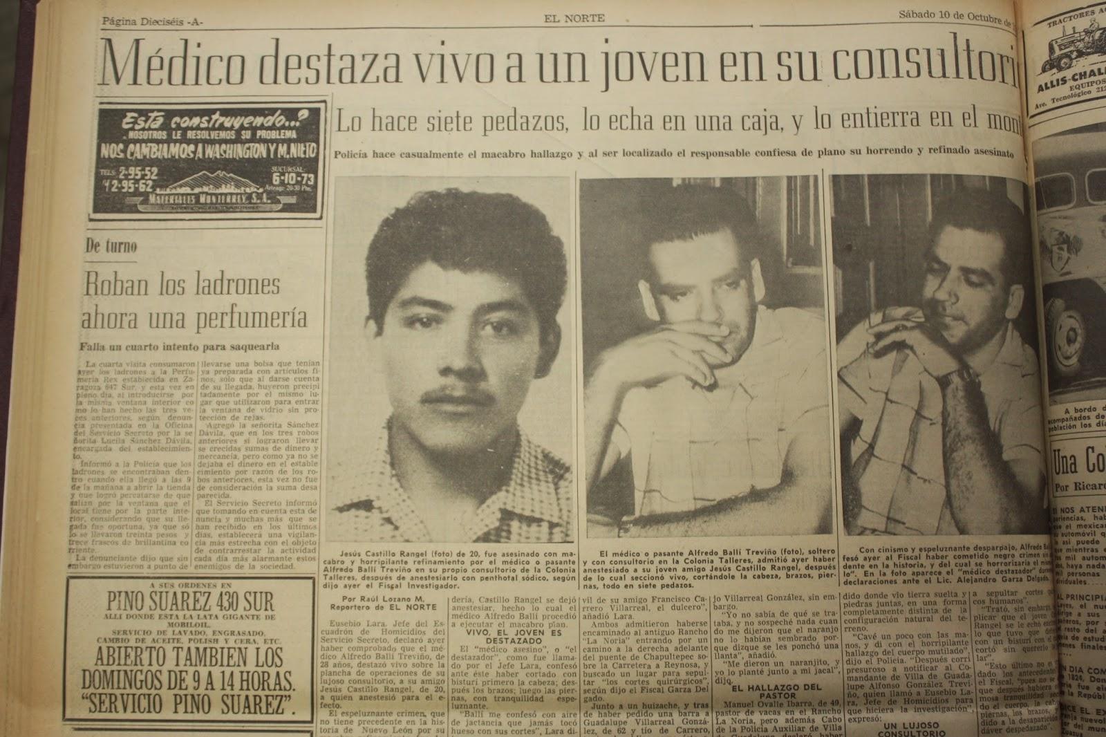 Resultado de imagen para Alfredo Balli Treviño