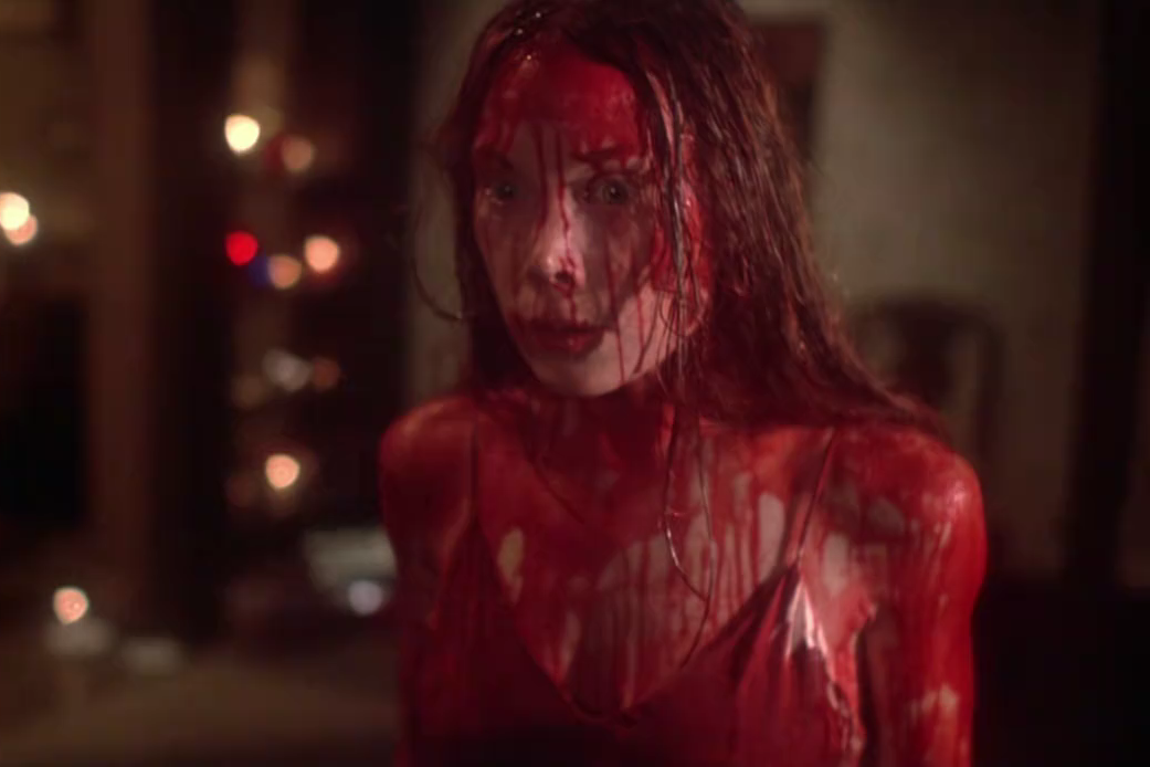 Woman and blood
