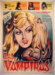 Mil Mascaras in the Vampire Girls poster