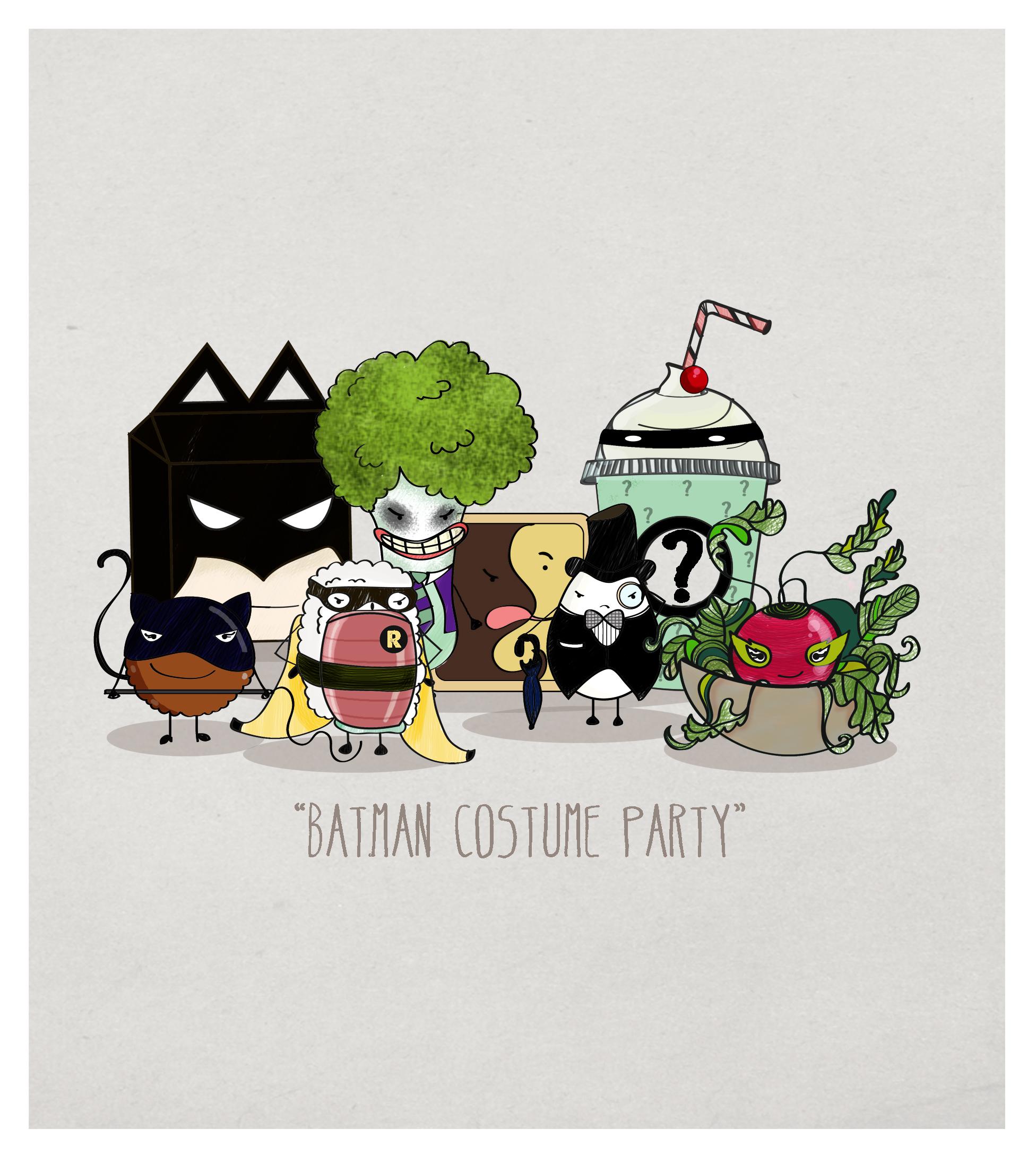 Batman en comida
