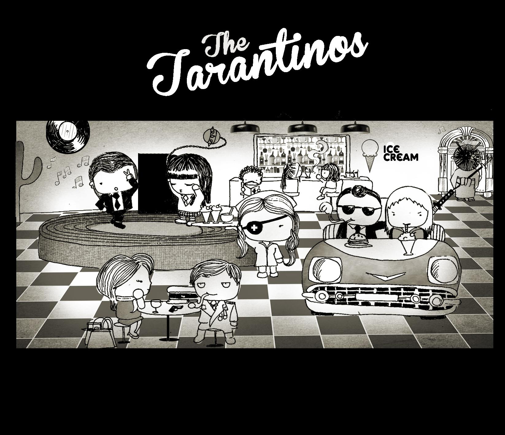 Parejas de Tarantino