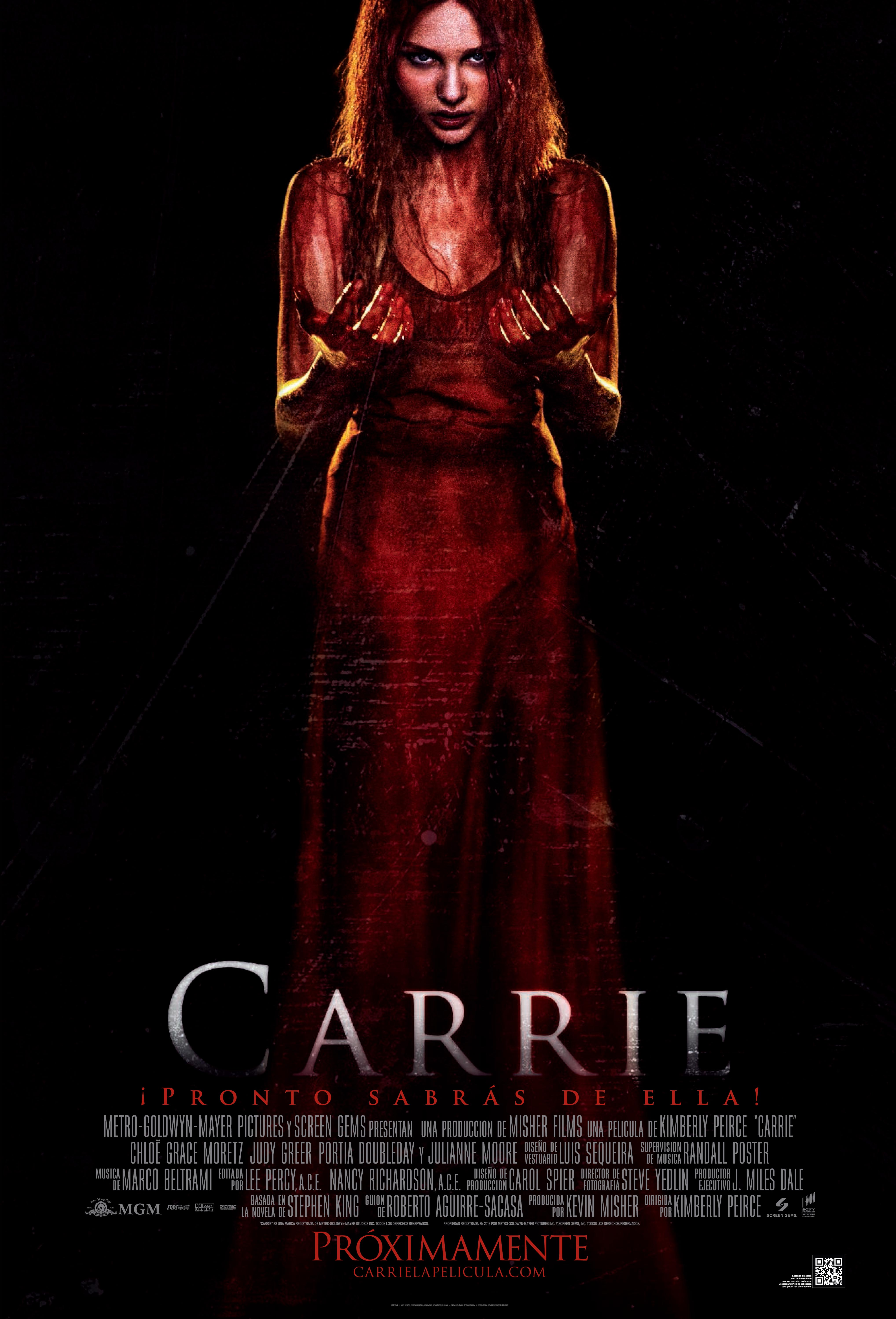 Carrie LAS one sheet