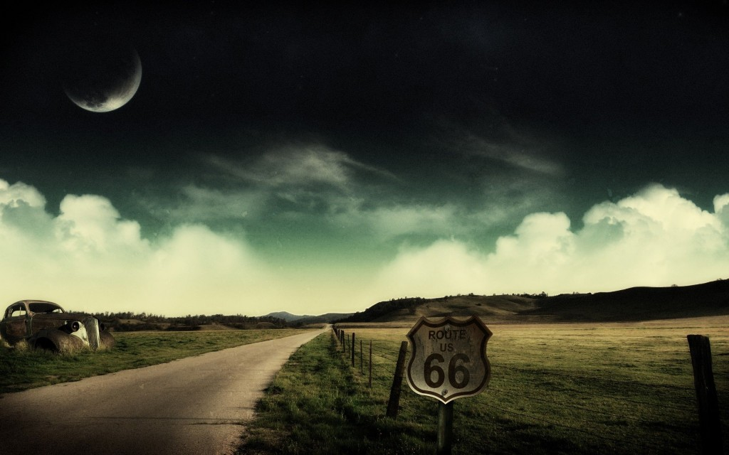 Road-Moon-Clouds-Collage