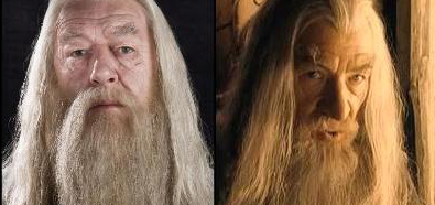 Dumbledore y Gandalf