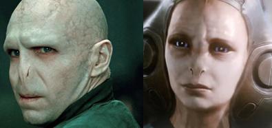 Lord Voldemort y la bibliotecaria de Halo