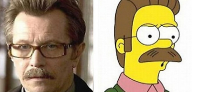 James Gordon y Ned Flanders