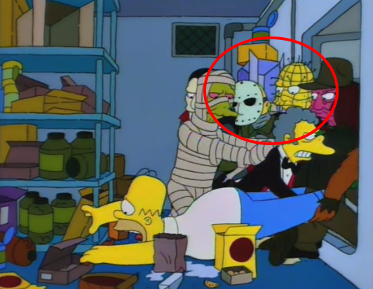 MONSTRUOS EN LOS SIMPSONS