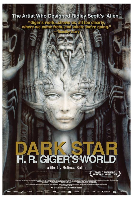 dark star giger poster
