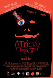 A TRICKY TREAT poster small