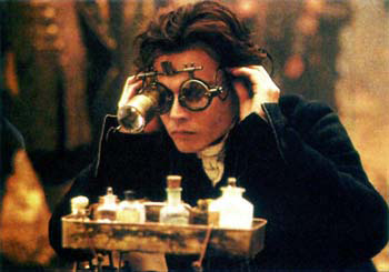 "Johnny Depp in ""Sleepy Hollow"""