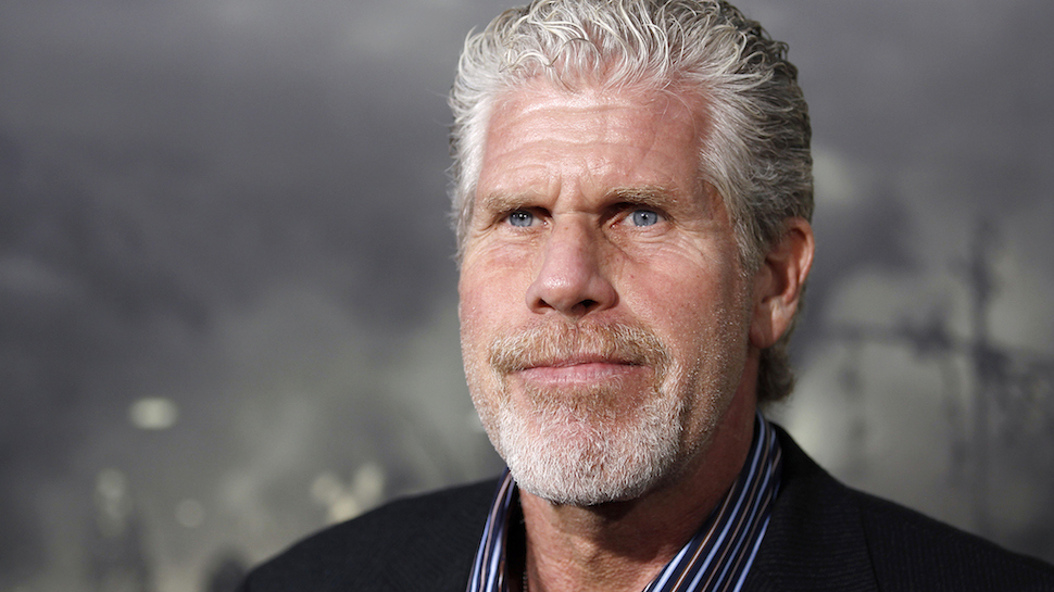 """Cast member Ron Perlman arrives at the premiere of """"Conan the Barbarian"""" in Los Angeles, Thursday, Aug. 11, 2011. """"Conan the Barbarian"""" opens in theaters Aug. 19, 2011. (AP Photo/Matt Sayles)"""